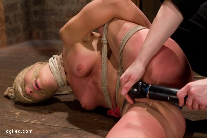 Photo number 10 from Amber Rayne Live Show Part 1 - Brutal Single Ankle Suspension shot for Hogtied on Kink.com. Featuring Amber Rayne in hardcore BDSM & Fetish porn.