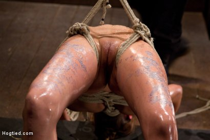 Photo number 12 from Amber Rayne Live Show Part 2 - Drawn and Quartered shot for Hogtied on Kink.com. Featuring Amber Rayne in hardcore BDSM & Fetish porn.