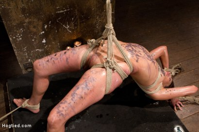 Photo number 13 from Amber Rayne Live Show Part 2 - Drawn and Quartered shot for Hogtied on Kink.com. Featuring Amber Rayne in hardcore BDSM & Fetish porn.