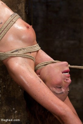 Photo number 3 from Amber Rayne Live Show Part 2 - Drawn and Quartered shot for Hogtied on Kink.com. Featuring Amber Rayne in hardcore BDSM & Fetish porn.