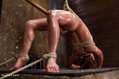 Photo number 5 from Amber Rayne Live Show Part 2 - Drawn and Quartered shot for Hogtied on Kink.com. Featuring Amber Rayne in hardcore BDSM & Fetish porn.