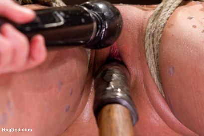Photo number 6 from Amber Rayne Live Show Part 2 - Drawn and Quartered shot for Hogtied on Kink.com. Featuring Amber Rayne in hardcore BDSM & Fetish porn.