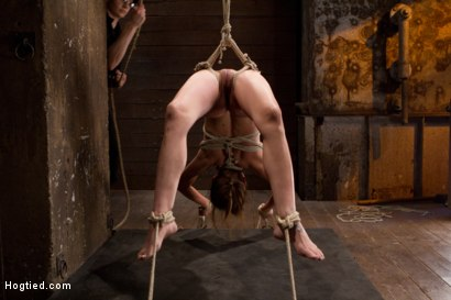 Photo number 9 from Amber Rayne Live Show Part 2 - Drawn and Quartered shot for Hogtied on Kink.com. Featuring Amber Rayne in hardcore BDSM & Fetish porn.