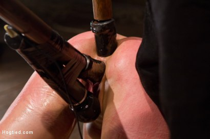 Photo number 1 from Amber Rayne Live Show Part 3 - Bent and Fisted shot for Hogtied on Kink.com. Featuring Amber Rayne in hardcore BDSM & Fetish porn.