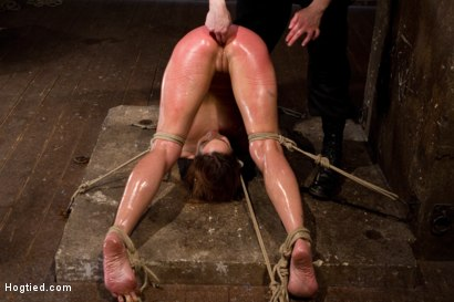 Photo number 13 from Amber Rayne Live Show Part 3 - Bent and Fisted shot for Hogtied on Kink.com. Featuring Amber Rayne in hardcore BDSM & Fetish porn.