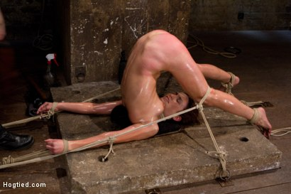Photo number 15 from Amber Rayne Live Show Part 3 - Bent and Fisted shot for Hogtied on Kink.com. Featuring Amber Rayne in hardcore BDSM & Fetish porn.