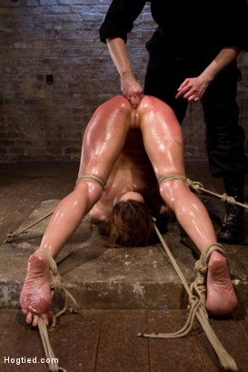 Photo number 7 from Amber Rayne Live Show Part 3 - Bent and Fisted shot for Hogtied on Kink.com. Featuring Amber Rayne in hardcore BDSM & Fetish porn.