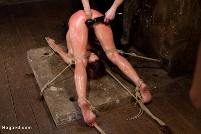 Photo number 8 from Amber Rayne Live Show Part 3 - Bent and Fisted shot for Hogtied on Kink.com. Featuring Amber Rayne in hardcore BDSM & Fetish porn.