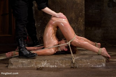 Photo number 12 from Amber Rayne Live Show Part 3 - Bent and Fisted shot for Hogtied on Kink.com. Featuring Amber Rayne in hardcore BDSM & Fetish porn.