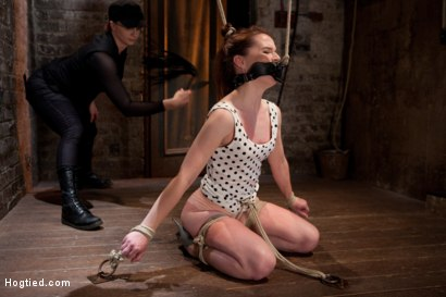 Photo number 13 from AnnaBelle Lee - Red Headed Slut - Live Show Part 1 shot for Hogtied on Kink.com. Featuring AnnaBelle Lee in hardcore BDSM & Fetish porn.