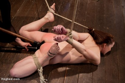 Photo number 4 from AnnaBelle Lee - Red Headed Slut - Live Show Part 2 shot for Hogtied on Kink.com. Featuring AnnaBelle Lee in hardcore BDSM & Fetish porn.