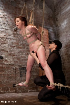 Photo number 5 from AnnaBelle Lee - Red Headed Slut - Live Show Part 3 shot for Hogtied on Kink.com. Featuring AnnaBelle Lee in hardcore BDSM & Fetish porn.