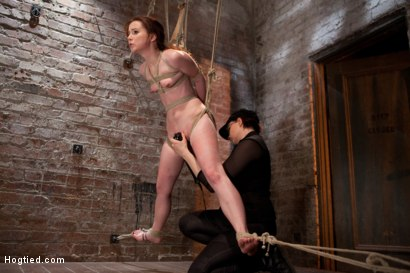 Photo number 6 from AnnaBelle Lee - Red Headed Slut - Live Show Part 3 shot for Hogtied on Kink.com. Featuring AnnaBelle Lee in hardcore BDSM & Fetish porn.
