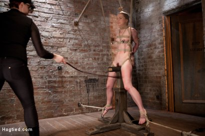 Photo number 9 from AnnaBelle Lee - Red Headed Slut - Live Show Part 3 shot for Hogtied on Kink.com. Featuring AnnaBelle Lee in hardcore BDSM & Fetish porn.