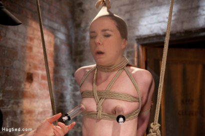 Photo number 10 from AnnaBelle Lee - Red Headed Slut - Live Show Part 3 shot for Hogtied on Kink.com. Featuring AnnaBelle Lee in hardcore BDSM & Fetish porn.
