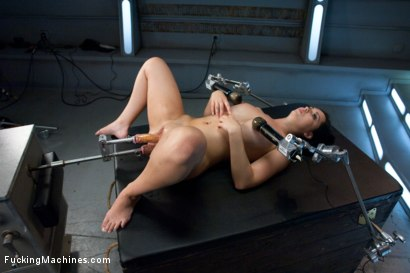 Photo number 4 from Our French Beauty Returns for More Crying, Full Release Orgasms shot for Fucking Machines on Kink.com. Featuring Angell Summers in hardcore BDSM & Fetish porn.