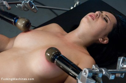 Photo number 6 from Our French Beauty Returns for More Crying, Full Release Orgasms shot for Fucking Machines on Kink.com. Featuring Angell Summers in hardcore BDSM & Fetish porn.