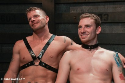 Photo number 15 from Dom Training 101 BG Style shot for Bound Gods on Kink.com. Featuring Van Darkholme, Jeremy Stevens and Sebastian Keys in hardcore BDSM & Fetish porn.