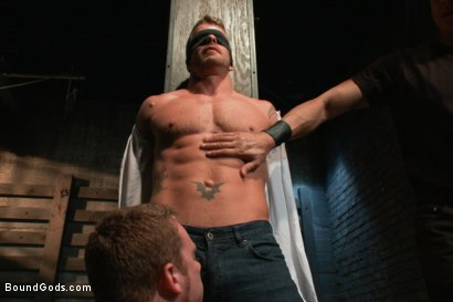 Photo number 2 from Dom Training 101 BG Style shot for Bound Gods on Kink.com. Featuring Van Darkholme, Jeremy Stevens and Sebastian Keys in hardcore BDSM & Fetish porn.