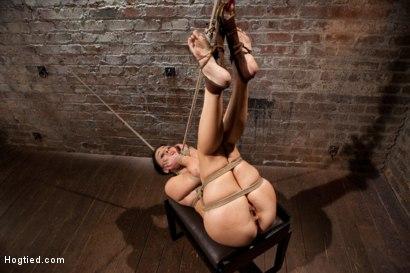 Photo number 6 from Ashli Orion Cums Back for More Brutal Ties only on HogTied shot for Hogtied on Kink.com. Featuring Ashli  Orion in hardcore BDSM & Fetish porn.
