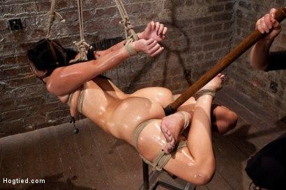 Photo number 11 from Ashli Orion Cums Back for More Brutal Ties only on HogTied shot for Hogtied on Kink.com. Featuring Ashli  Orion in hardcore BDSM & Fetish porn.