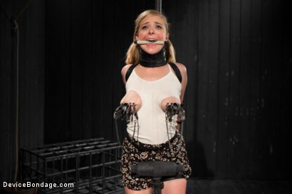 Photo number 5 from Blonde Cunt Penny Pax Subjected to Brutal Bondage shot for Device Bondage on Kink.com. Featuring Penny Pax in hardcore BDSM & Fetish porn.