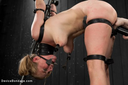 Photo number 2 from Blonde Cunt Penny Pax Subjected to Brutal Bondage shot for Device Bondage on Kink.com. Featuring Penny Pax in hardcore BDSM & Fetish porn.