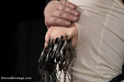 Photo number 4 from Blonde Cunt Penny Pax Subjected to Brutal Bondage shot for Device Bondage on Kink.com. Featuring Penny Pax in hardcore BDSM & Fetish porn.