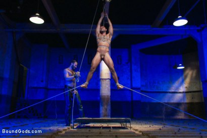 Photo number 10 from Wilfried Knight - Leo Forte's dream comes true shot for Bound Gods on Kink.com. Featuring Wilfried Knight and Leo Forte in hardcore BDSM & Fetish porn.
