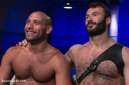 Photo number 15 from Wilfried Knight - Leo Forte's dream comes true shot for Bound Gods on Kink.com. Featuring Wilfried Knight and Leo Forte in hardcore BDSM & Fetish porn.