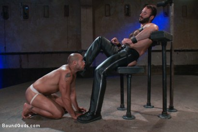 Photo number 2 from Wilfried Knight - Leo Forte's dream comes true shot for Bound Gods on Kink.com. Featuring Wilfried Knight and Leo Forte in hardcore BDSM & Fetish porn.