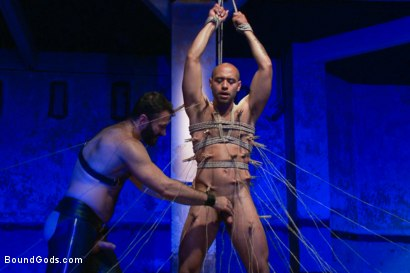 Photo number 8 from Wilfried Knight - Leo Forte's dream comes true shot for Bound Gods on Kink.com. Featuring Wilfried Knight and Leo Forte in hardcore BDSM & Fetish porn.