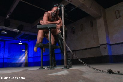 Photo number 11 from Wilfried Knight - Leo Forte's dream comes true shot for Bound Gods on Kink.com. Featuring Wilfried Knight and Leo Forte in hardcore BDSM & Fetish porn.