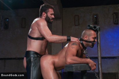 Photo number 13 from Wilfried Knight - Leo Forte's dream comes true shot for Bound Gods on Kink.com. Featuring Wilfried Knight and Leo Forte in hardcore BDSM & Fetish porn.