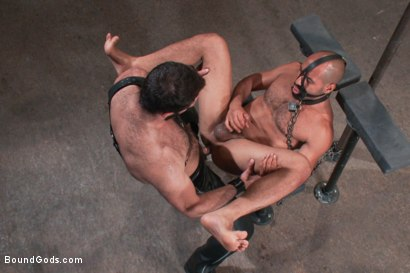 Photo number 14 from Wilfried Knight - Leo Forte's dream comes true shot for Bound Gods on Kink.com. Featuring Wilfried Knight and Leo Forte in hardcore BDSM & Fetish porn.
