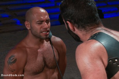 Photo number 3 from Wilfried Knight - Leo Forte's dream comes true shot for Bound Gods on Kink.com. Featuring Wilfried Knight and Leo Forte in hardcore BDSM & Fetish porn.