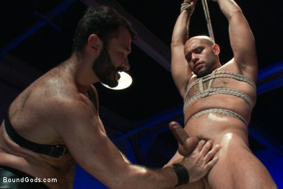 Photo number 6 from Wilfried Knight - Leo Forte's dream comes true shot for Bound Gods on Kink.com. Featuring Wilfried Knight and Leo Forte in hardcore BDSM & Fetish porn.