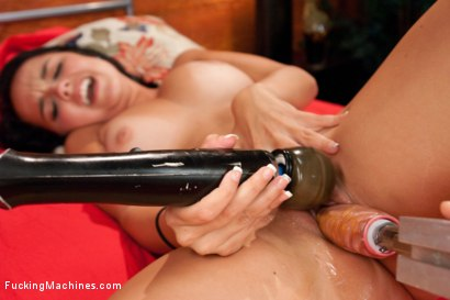 Photo number 9 from Machine Fucking A Florida Unicorn:Amateur Girl Amazing Genuine Orgasms shot for Fucking Machines on Kink.com. Featuring Dillion Harper in hardcore BDSM & Fetish porn.