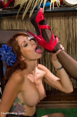 Photo number 12 from Lesbian Strawberry Foot Food Crushing! shot for Foot Worship on Kink.com. Featuring Monique Alexander and Gracie Glam in hardcore BDSM & Fetish porn.