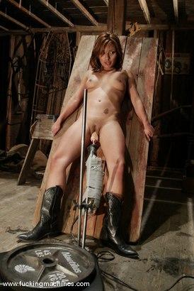 Photo number 6 from Jasmine Byrne shot for Fucking Machines on Kink.com. Featuring Jasmine Byrne in hardcore BDSM & Fetish porn.