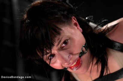Photo number 1 from Katharine Cane vs Jack Hammer shot for Device Bondage on Kink.com. Featuring Jack Hammer and Katharine Cane in hardcore BDSM & Fetish porn.