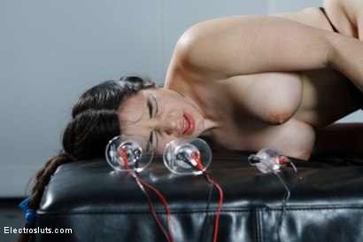 Photo number 2 from Fresh Faced 19 Year Old Takes an Electrifying Ass Stretching! shot for Electro Sluts on Kink.com. Featuring Bobbi Starr and Naidyne in hardcore BDSM & Fetish porn.