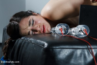 Photo number 8 from Fresh Faced 19 Year Old Takes an Electrifying Ass Stretching! shot for Electro Sluts on Kink.com. Featuring Bobbi Starr and Naidyne in hardcore BDSM & Fetish porn.