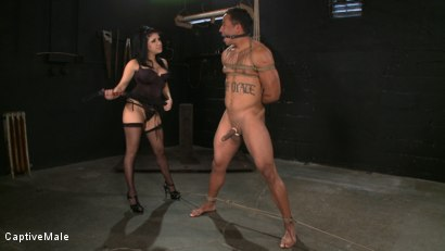 Photo number 11 from Sativa's Slave shot for Captive Male on Kink.com. Featuring Lobo and Sativa Rose in hardcore BDSM & Fetish porn.