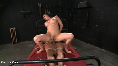 Photo number 5 from Sativa's Slave shot for Captive Male on Kink.com. Featuring Lobo and Sativa Rose in hardcore BDSM & Fetish porn.