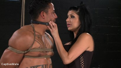 Photo number 8 from Sativa's Slave shot for Captive Male on Kink.com. Featuring Lobo and Sativa Rose in hardcore BDSM & Fetish porn.