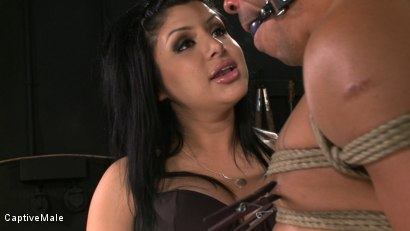 Photo number 10 from Sativa's Slave shot for Captive Male on Kink.com. Featuring Lobo and Sativa Rose in hardcore BDSM & Fetish porn.