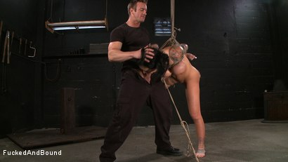 Photo number 13 from Tattooed and Tied up! shot for Fucked and Bound on Kink.com. Featuring TJ Cummings and Mason Moore in hardcore BDSM & Fetish porn.