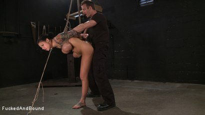 Photo number 7 from Tattooed and Tied up! shot for Fucked and Bound on Kink.com. Featuring TJ Cummings and Mason Moore in hardcore BDSM & Fetish porn.