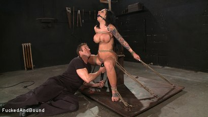 Photo number 9 from Tattooed and Tied up! shot for Fucked and Bound on Kink.com. Featuring TJ Cummings and Mason Moore in hardcore BDSM & Fetish porn.